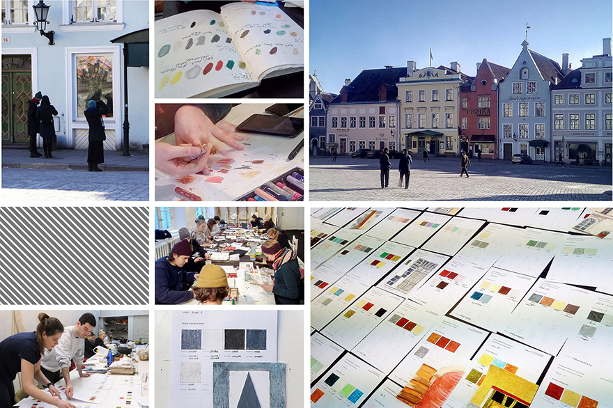 100 perceptions project by students in product design program at Berlin International