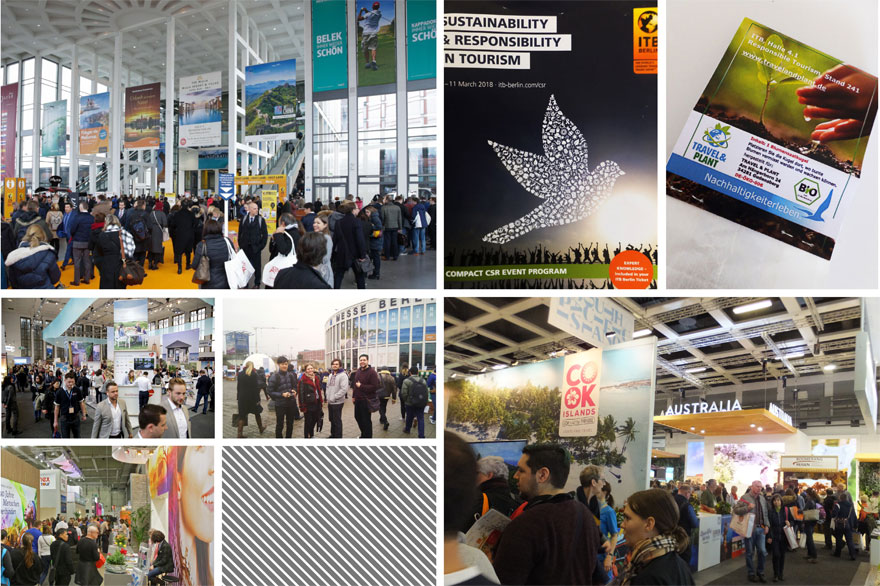 students studying product design at Berlin International visit World Travel Show 2018